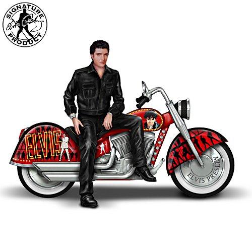Unterwegs mit dem King - Elvis Presley Skulptur