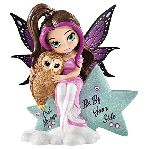"""Jasmine Becket-Griffith """"Owl Always Be By Your Side"""" Figurine"""