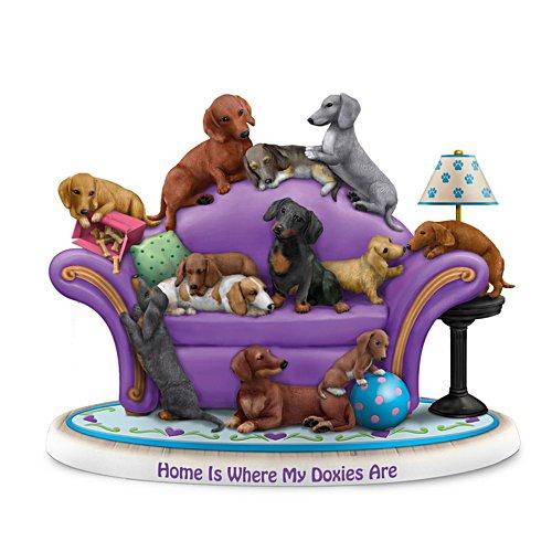 Waar mijn honden zijn, is mijn thuis – figuur