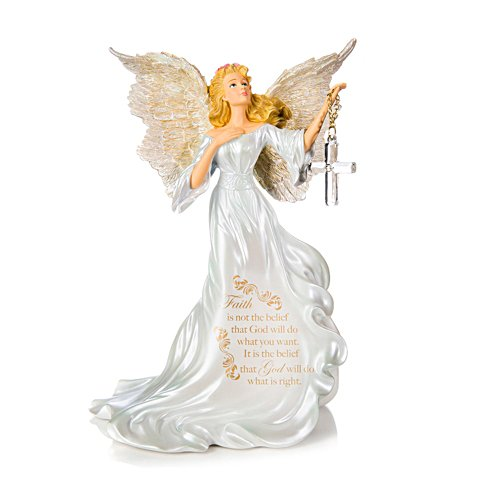 Dona Gelsinger My Courage, My Faith Figurine