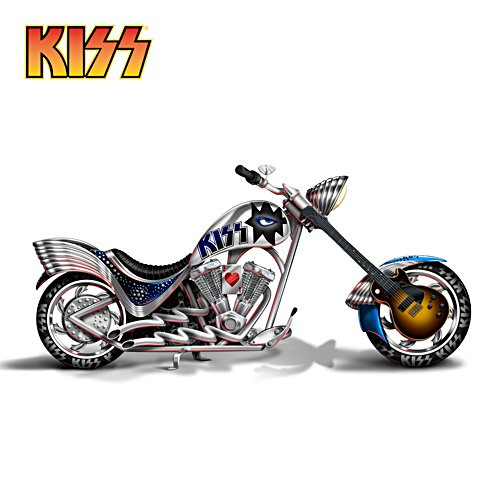KISS Spaceman Rocket Motorcycle Sculpture