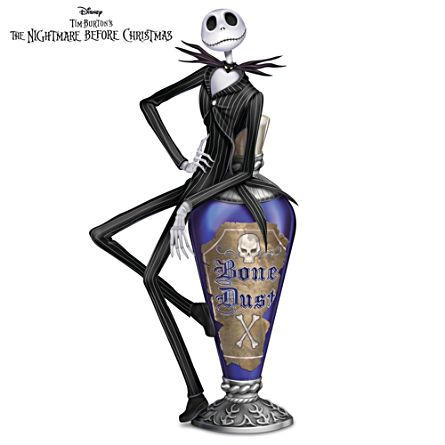 disney tim burtons the nightmare before christmas jacks bone dust figurine