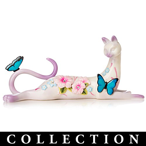 Virtues Of Purr-fection By Lena Liu Porcelain Cat Figurines