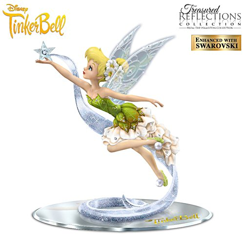 "Disney ""Dream, Believe And Sparkle"" Tinker Bell Figurine"