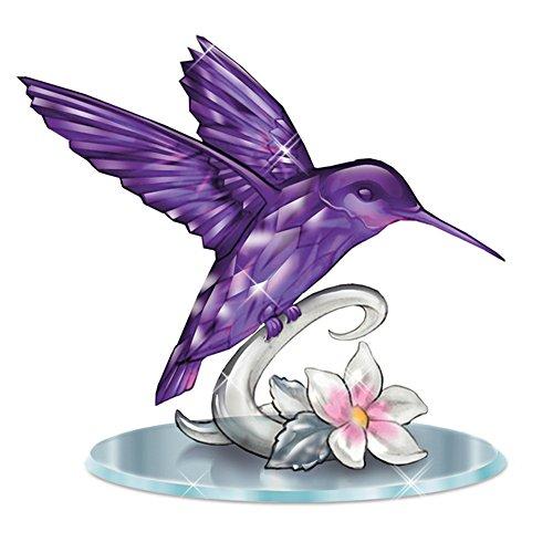 Lena Liu 'Beauty Of The Amethyst' Hummingbird Figurine