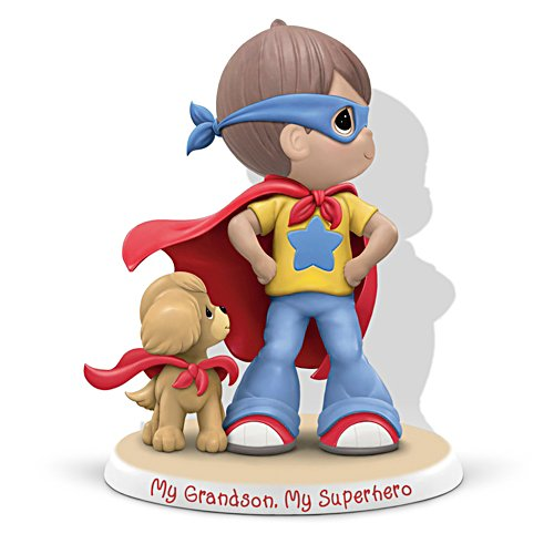 "Precious Moments ""My Grandson, My Superhero"" Figurine"
