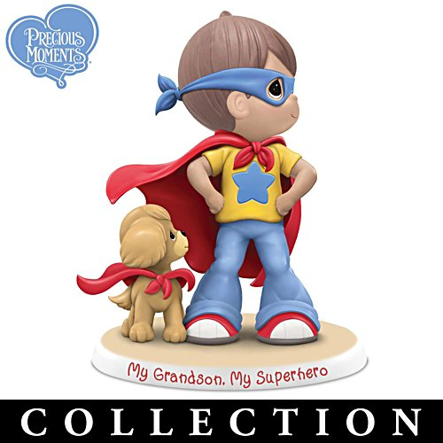 "Precious Moments ""Grandsons Are SUPER"" Collection"