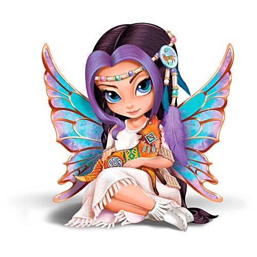"Jasmine Becket-Griffith ""Moonchaser, The Brave"" Figurine"