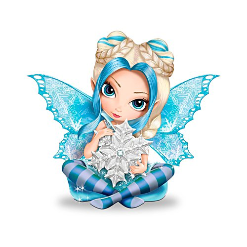 Jasmine Becket-Griffith Of Ice And Snow Figurine
