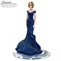 Princess Diana Radiance In Blue Figurine