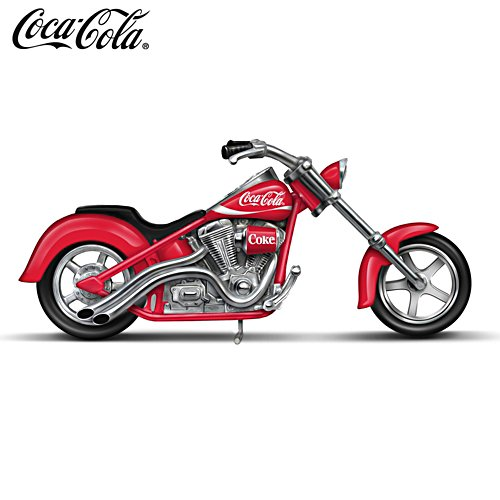One Cool Ride COCA-COLA Motorcycle Sculpture
