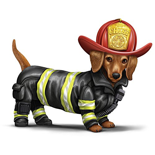 Bello Brandmeister — Limitierte Hundefigurine