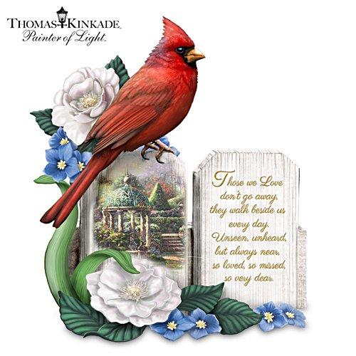 Thomas Kinkade 'A Love So Dear' Cardinal Figurine