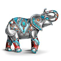 'Sterling Strength' Elephant Figurine
