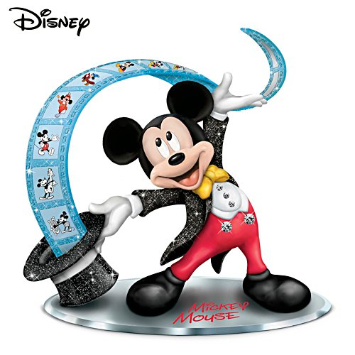 """The Ear-resistible Mickey Mouse"" Figurine With Mirror Base"