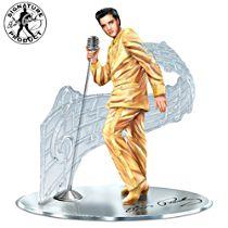 """Treasured Reflections Of Elvis Presley"" Sculpture"