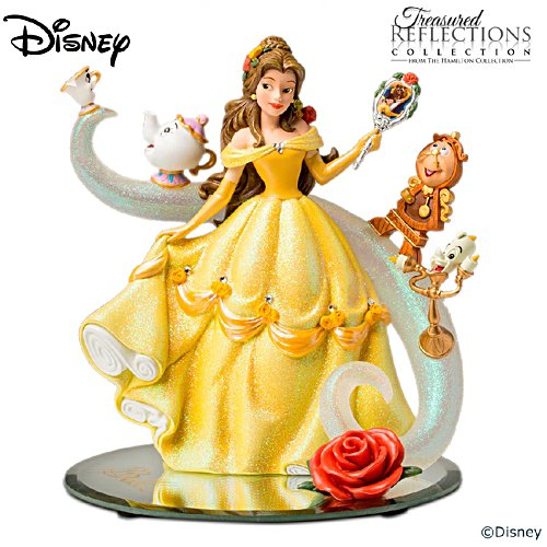 "Disney Beauty And The Beast ""A Tale Of Enchantment"" Figurine"
