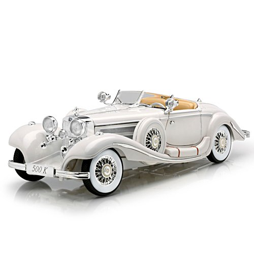 1:18-Scale Mercedes-Benz 500K Special Roadster Diecast Car