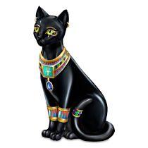 """Blake Jensen """"Pharaoh Of The Night"""" Cat Figurine"""