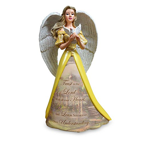 Trust In The Lord Angel Figurine