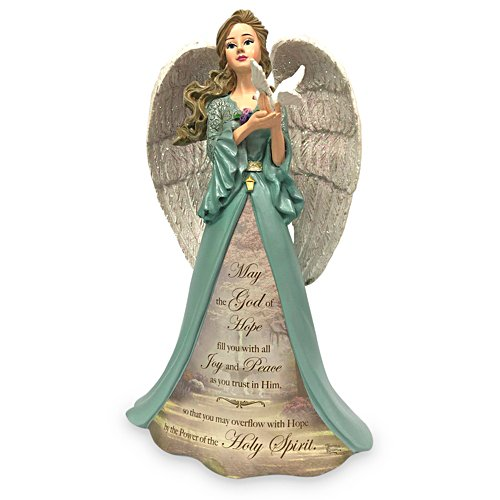 Thomas Kinkade May The Hope of God Angel Figurine