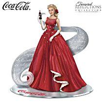 """""""A Timeless Reflection With COCA-COLA"""" Figurine"""