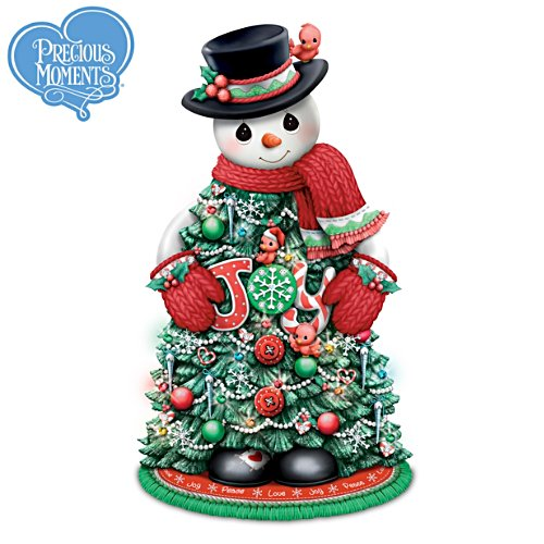 "Precious Moments® ""Snow Much Christmas Magic"" Snowman Tree"