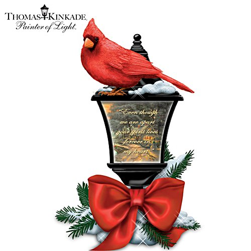 Thomas Kinkade Your Spirit Lives Forever In My Heart Lantern