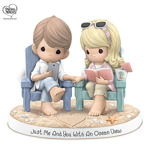 'Just Me And You With An Ocean View' Precious Moments Porcelain Figurine