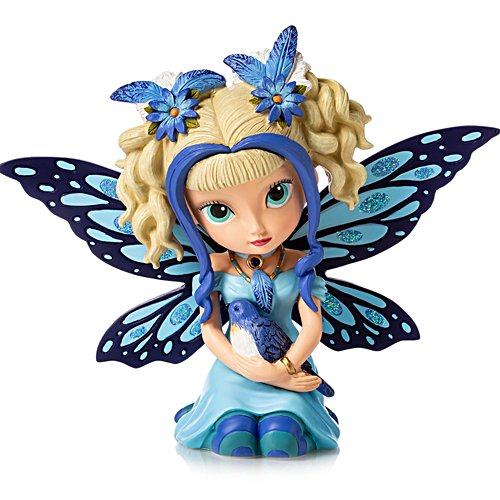 Jasmine Becket-Griffith Bluebird Darling Fairy Figurine