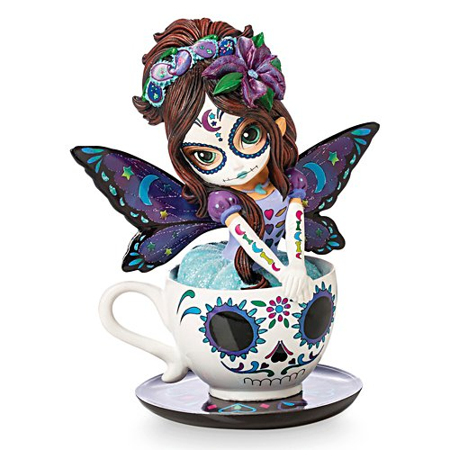 Jasmine Becket-Griffith Soothing Astrid Sugar Skull Fairy Figurine