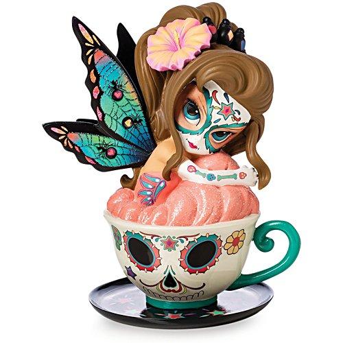 Jasmine Becket-Griffith 'Relaxing Rose Ella' Sugar Skull Fairy Figurine