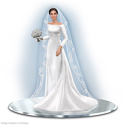 Meghan Markle Royal Bride Figurine