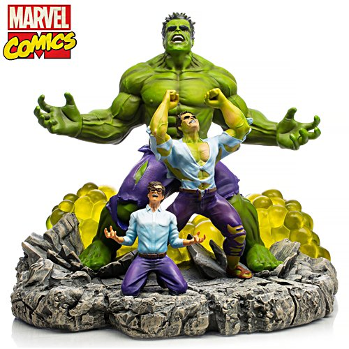 "MARVEL ""HULK: The Monster Within"" Illuminated Sculpture"