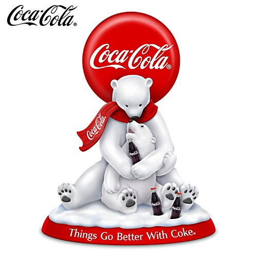 'Things Go Better With Coke' Polar Bear Figurine