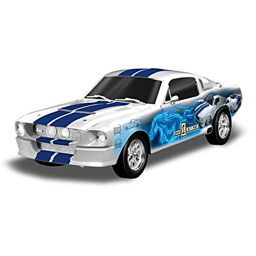 1:18-Scale Collage 1967 Shelby GT-500 Car Sculpture