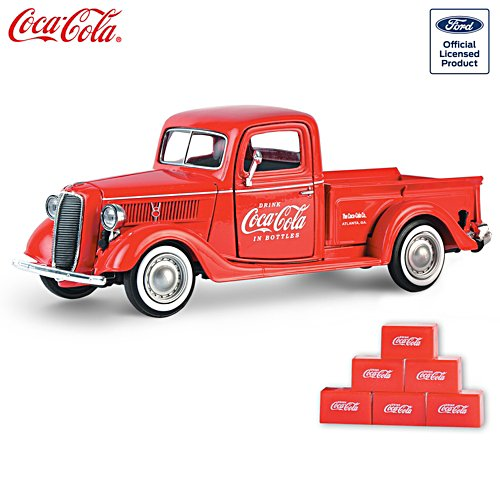 COCA-COLA Diecast 1937 Ford Pickup Vehicle
