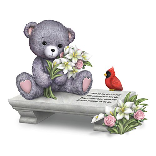 "Faithful Fuzzies ""A Love So Dear"" Remembrance Figurine"