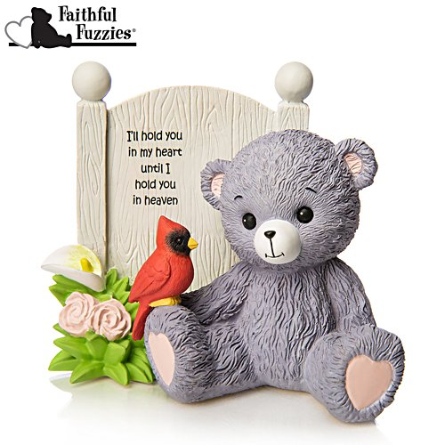 "Faithful Fuzzies ""Hold You in My Heart"" Remembrance Figurine"