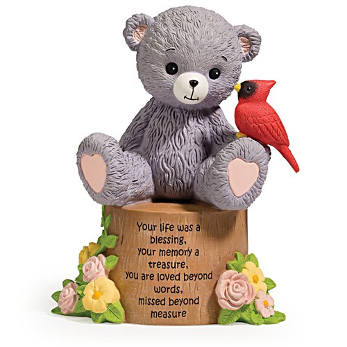 """Faithful Fuzzies """"Life Blessing"""" Remembrance Figurine"""