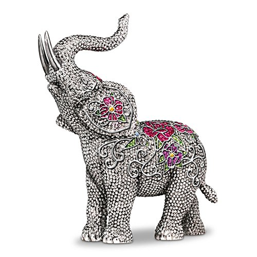 Blake Jensen Legends Of Fortune Elephant Figurine