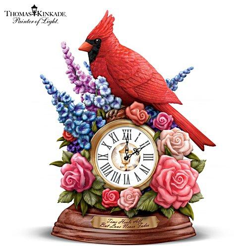 Thomas Kinkade 'Time Heals All, But Love Never Fades' Desk Clock