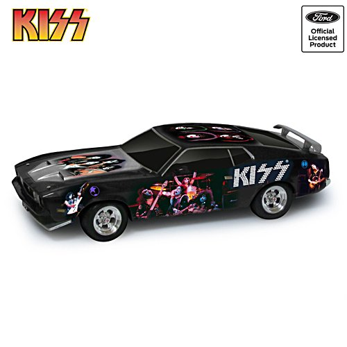KISS 1:18-Scale 1973 Ford Mustang Mach 1 Sculpture
