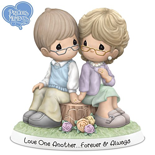 "Precious Moments ""Forever And Always"" Porcelain Figurine"