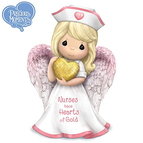 Precious Moments® 'Nurses Have Hearts Of Gold' Figurine