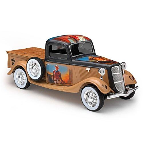 1935er Ford Pickup — Modellauto und Spardose