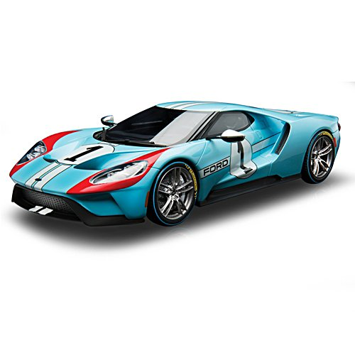 1:18-Scale 2020 Ford GT #1 Heritage Edition Diecast Car