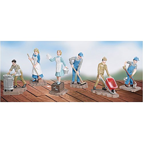 Trackside Cleaning Figurine Set