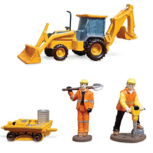 'Construction Crew' Train Accessory Figurine Set