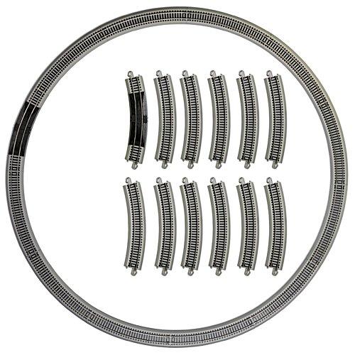 12-Piece 46cm Radius Elevated Track Accessory Set